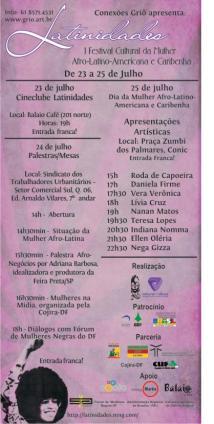 Festival Cultural da Mulher Afro
